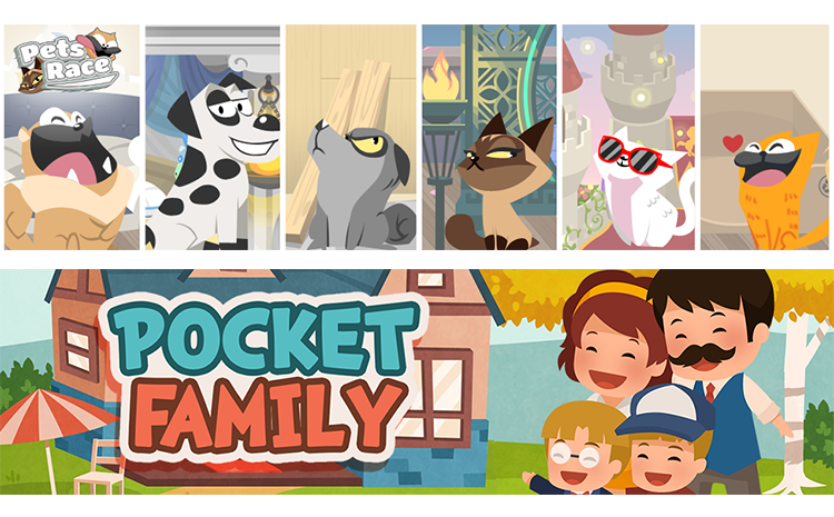 Pets Race | Pocket Family