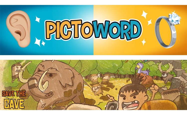 PictoWord | Save the Cave